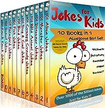 Jokes for Kids - 10 in 1 Box Set PLUS 'Knock Knock Jokes for Kids' Book. Short, Funny, Clean and Corny Kid's Jokes - Fun w...