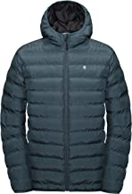 Little Donkey Andy Men's Warm Waterproof Puffer Jacket Hooded Windproof Winter Coat with Recycled Insulation