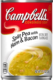 Campbell's Condensed Split Pea with Ham Soup, 11.5 oz. Can (Pack of 12)