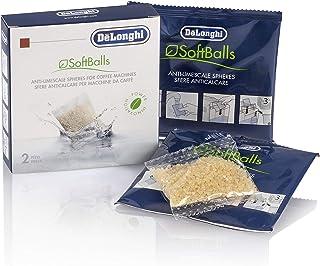 De'Longhi SoftBalls DLSC551 – Boules de machines à café avec réservoir d'eau, nettoyant anticalcaire et adoucissant, acces...