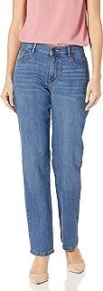 بنطلون جينز للسيدات من LEE بمقاس مريح ساق مستقيمة