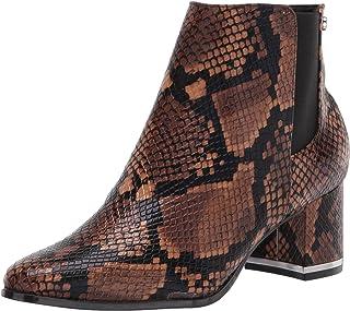 Calvin Klein Womens Fioranna Almond Toe Ankle Chelsea Boots