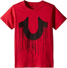 True Religion Kids - Horseshoe Drip Tee (Toddler/Little Kids)