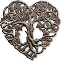 Tree of Life Heart Shaped, Friendship Wall Hanging Plaque, Decorative Home Decor, Peace,..