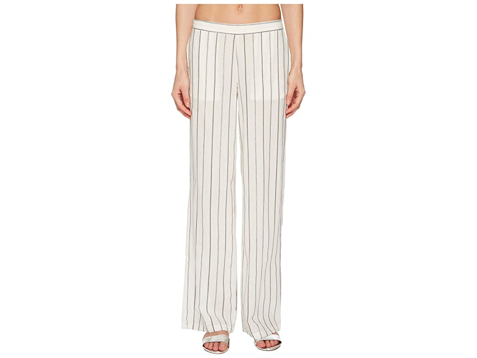 onia Mila Pants (Metallic Stripe/White Multi) Women