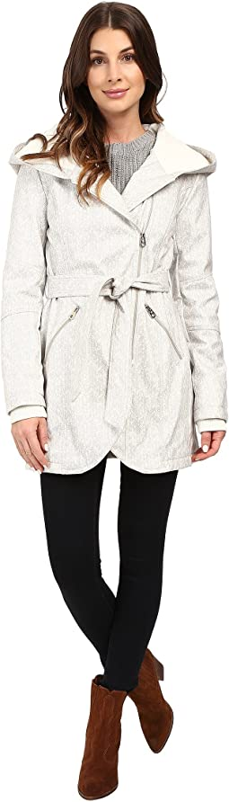 Asymmetrical Zip Softshell Jacket