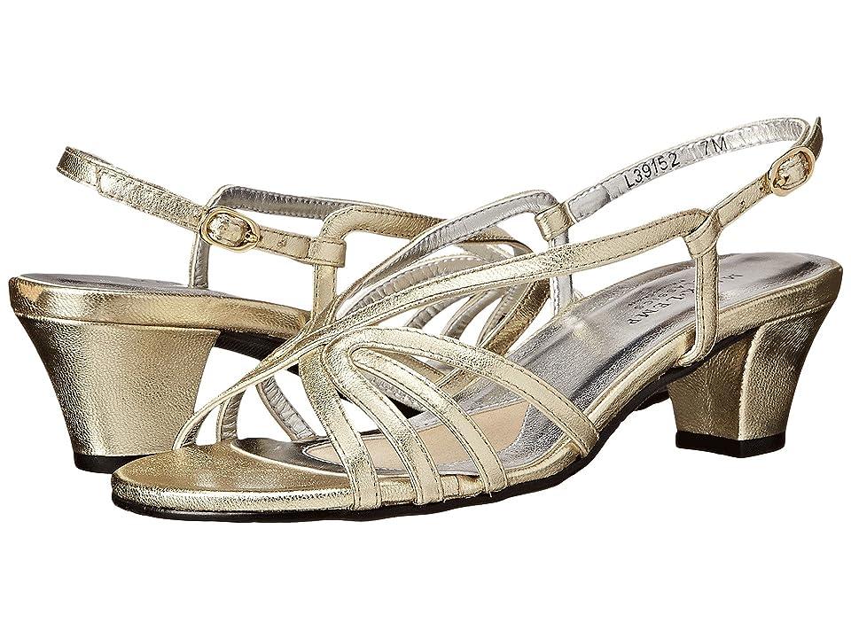 Walking Cradles Leash (Gold Nappa) Women's Sandals