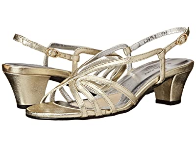 Walking Cradles Leash (Gold Nappa) Women