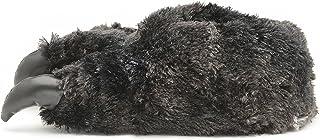 Chaussons fantaisie pour homme en forme de pattes avec griffes de monstre