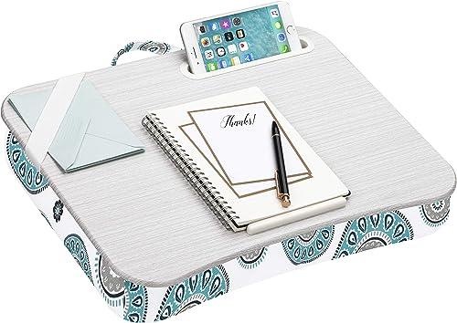 """LapGear Designer Lap Desk for 15"""" laptops Medallion"""