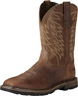 Ariat Men's Groundbreaker Wide Square Toe Workboot