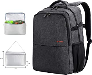 backpack with laptop sleeve and shoe compartment