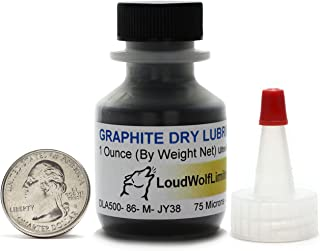 Graphite/44 Micron Powder/1 Ounce/99.9% Pure Military Grade/SHIPS FAST FROM USA