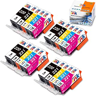 Starink Compatible Ink Cartridge Replacement for PGI-220 CLI-221 Work with PIXMA IP3600 IP4600 IP4700 MX860 MX870 MP560 MP620 MP620B MP640 MP980 MP990 PMFP1 PMFP3 SFP1 SFP2 Printers 20 Pack