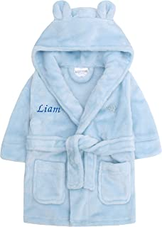 EX PETIT BATEAU WHITE BABY DRESSING GOWN ROBE 9-12 12-18 18-24 months