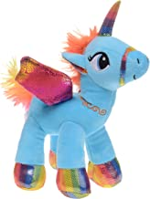 Azure Blue Rainbow Pegasus Unicorn 8