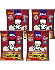 ニオイをとる砂 7歳以上用 猫砂 5L×4袋 (ケース販売)