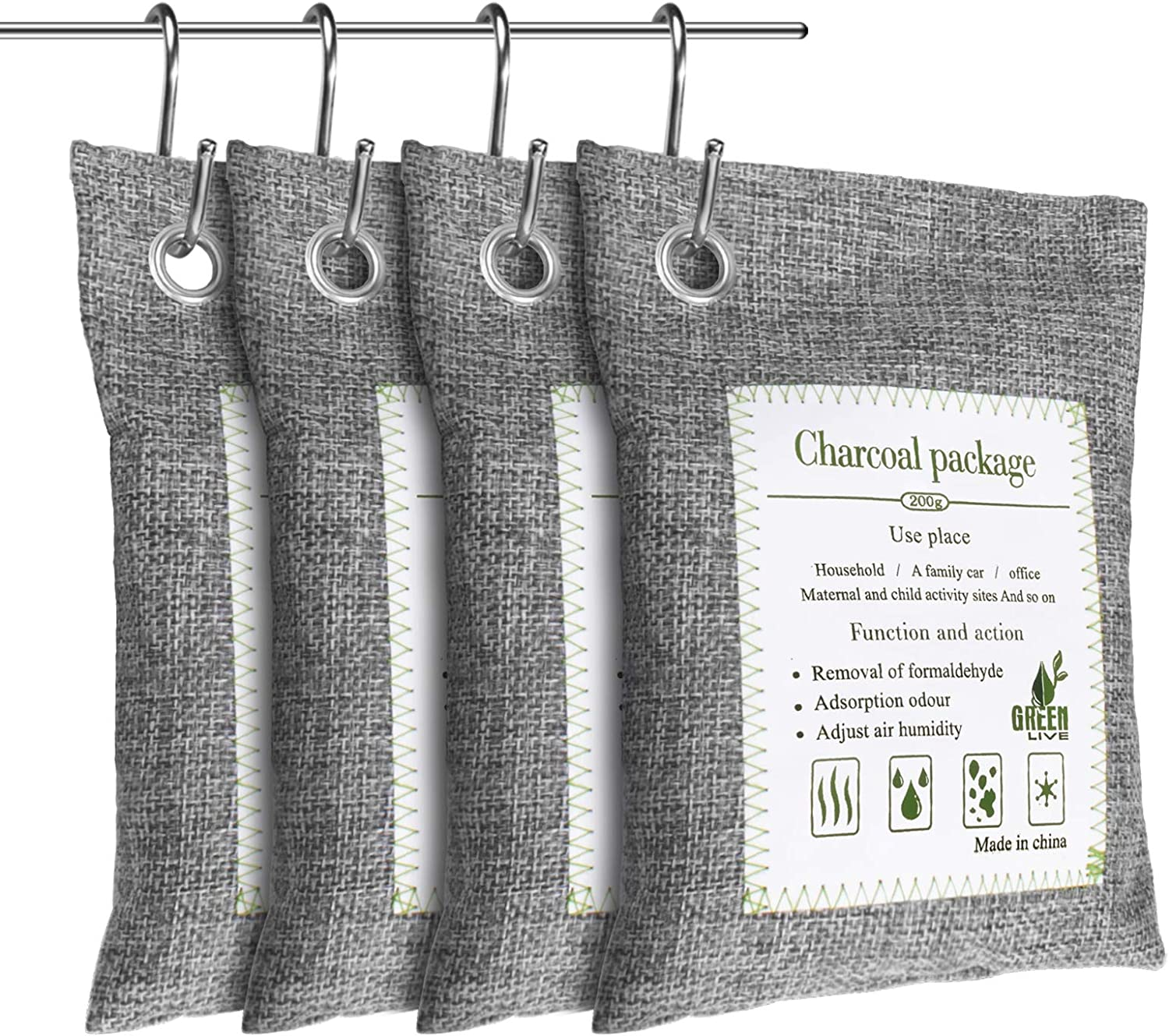 Dioxide Bamboo Charcoal Discount is also underway Air Choice Pack 4 Bag Purifying