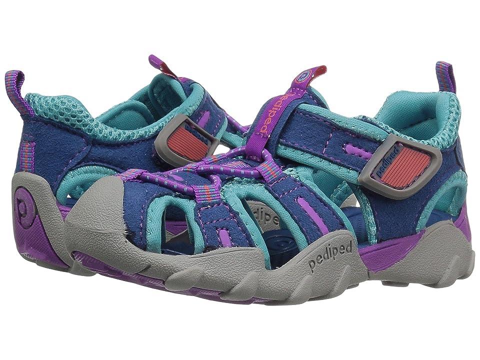 pediped Canyon Flex (Toddler/Little Kid/Big Kid) (Ocean) Girls Shoes