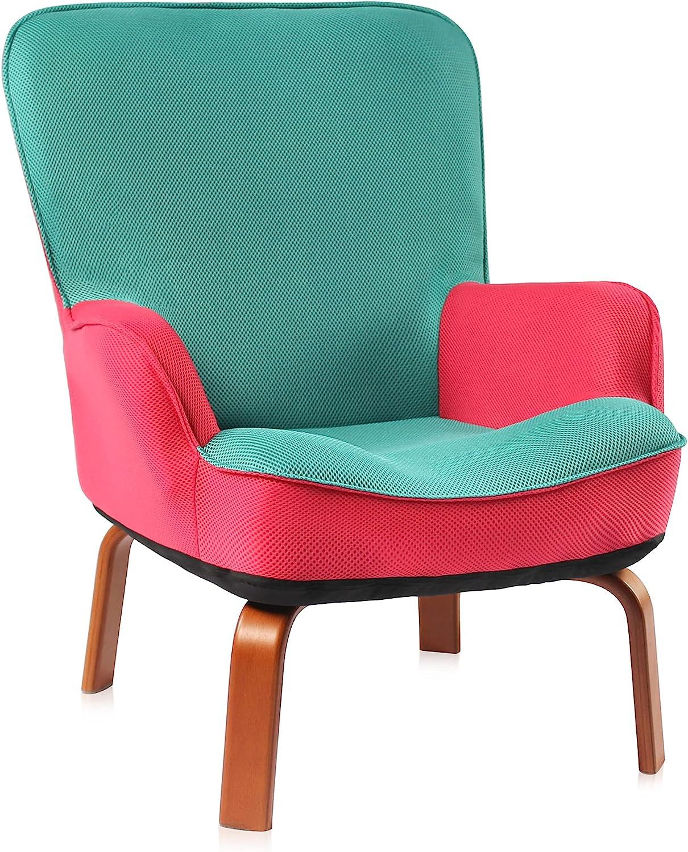 Bigroof Kids Sofa Chair Limited half price Children Wooden Armrest with Fram