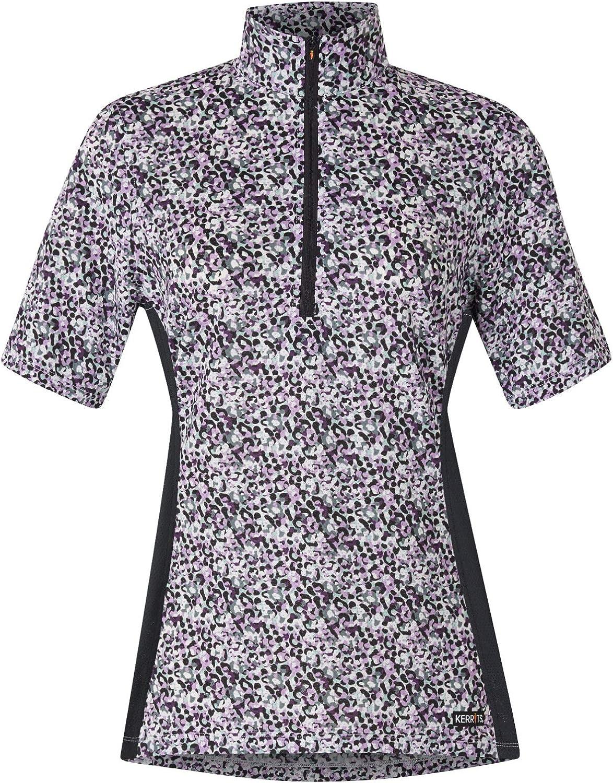 Kerrits Cool Ride Ice Fil Short Sleeve Shirt Print