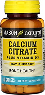 Mason Natural Calcium Citrate With Vitamin D3 Caplets
