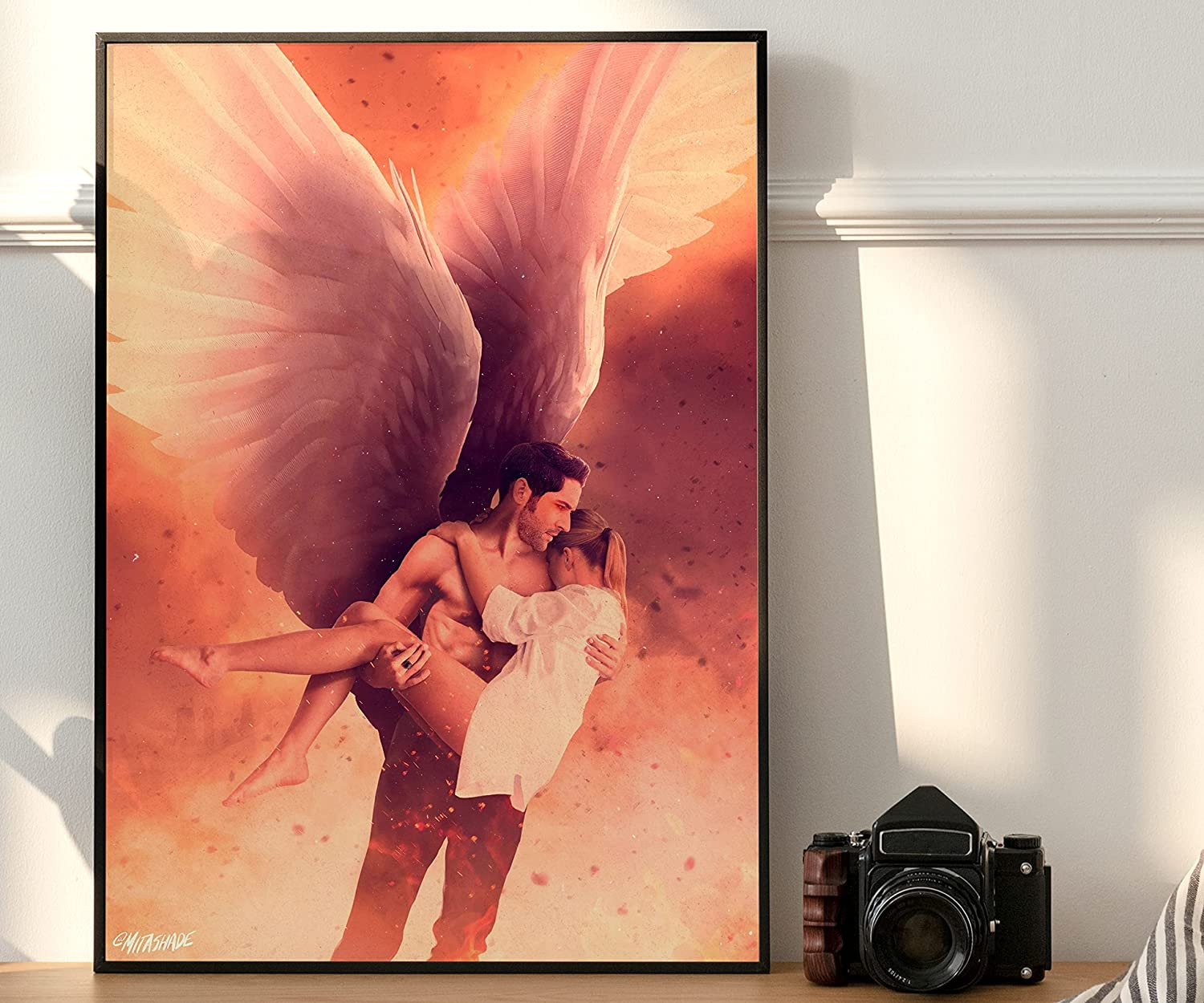 CanvasWallCraft Max 88% OFF poster Easy-to-use compatible with Lucifer