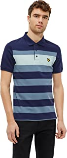 Lyle & Scott Multi Color Shirt Neck Polo For Men, Size Small