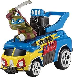 Teenage Mutant Ninja Turtles T-Machines Extreme Party Wagon with Leonardo Vehicle with Sound