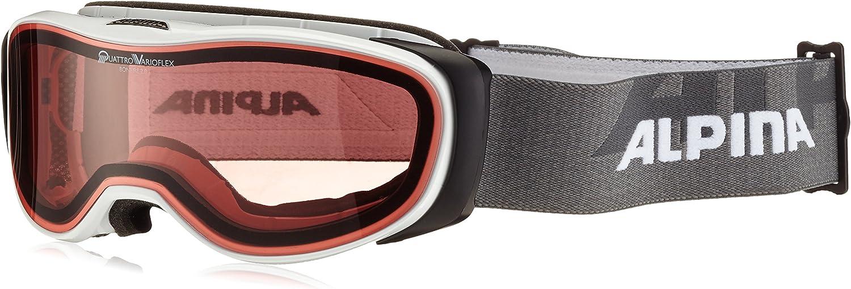 ALPINA Skibrille Bonfire 2.0 QV B011WUM6AI  Leicht zu reinigende Oberfläche