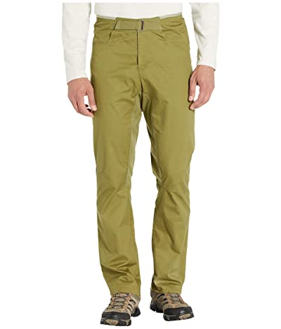 Mammut Massone Pants (Olive) Men