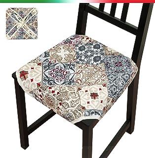 spessore 2 cm cuscino lungo imbottito cuscino per sedia Cuscino per panca da giardino sfoderabile campeggio resistente per sala da pranzo Homay antiscivolo con laccetto 2 posti