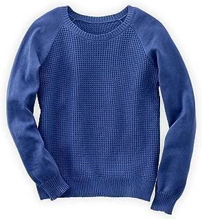 Fair Trade Organic Contrast Stitch Raglan Pullover