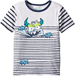 Monster In Stripes Tee (Toddler/Little Kids/Big Kids)
