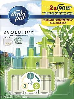 comprar comparacion Ambi Pur 3Volution Tatami Japonés, Recambio de Ambientador Eléctrico 42 ml, 3 Fragancias para Eliminar Olores