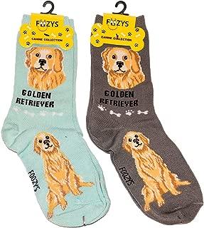 dog motif socks