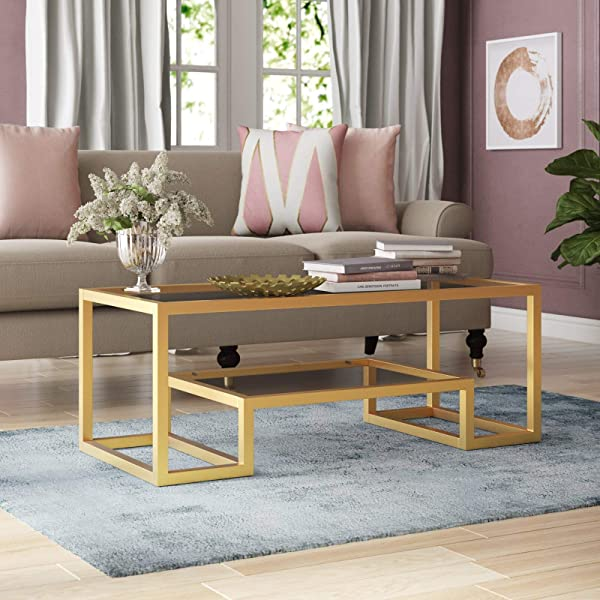 Modern Imel Coffee Table With Tray Top