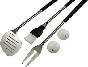 Golf Gifts & Gallery 5-Piece Barbecue Set with Golf Club Handles