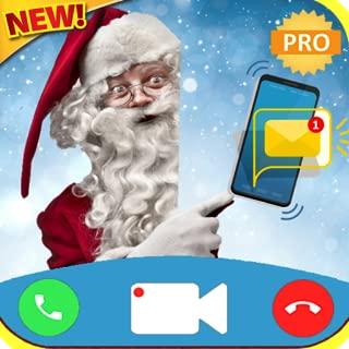 fake texte message from santa fake call