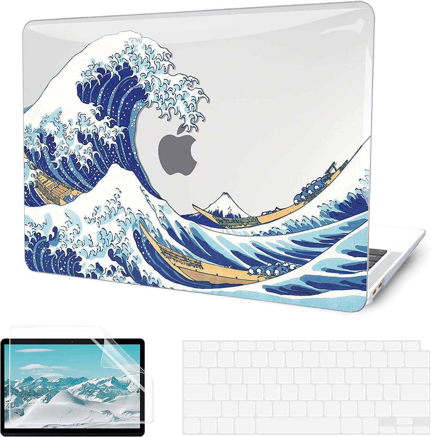 G 1 year warranty JGOO Compatible with MacBook Air 13 2 Inch 2019 2021 Case 2020 2021new shipping free shipping