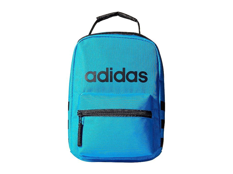 adidas Santiago Lunch Bag (Bright Blue/Black) Bags