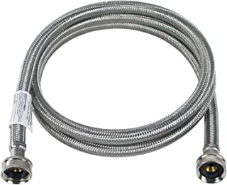 Certified Appliance Accessories Braided Stainless Steel Washing Machine Hose, 5ft