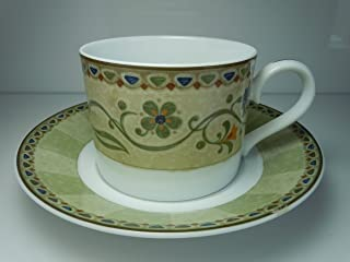 Noritake Honeycone Cup and Saucer New