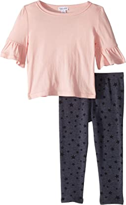 Star Print Leggings Set (Toddler)