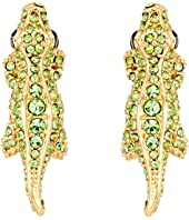 Kate Spade New York - Swamped Pave Alligator Stud Earrings