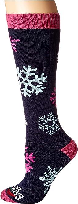 Snowflakes Mid Volume Socks
