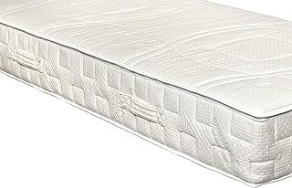 Látex sentido por Yanis 20cm colchón de látex suave Millenium 100% natural Talalay, tela, Blanco, 90x190cm