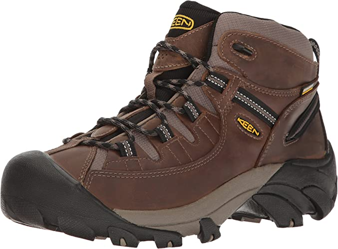 KEEN Men's Targhee II Mid Wide Hiking chaussures, Shiitake Brindle, 13 W US
