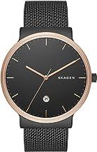Skagen Men's Ancher Stainless Steel and Mesh Quartz Watch