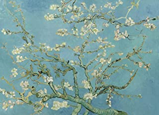 """PalaceLearning Vincent Van Gogh Almond Blossom Poster Print - 1890 - Fine Art Wall Decor (18"""" x 24"""", Laminated)"""
